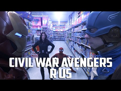 CIVIL WAR Avengers R Us - Epic Fan Made Action Film