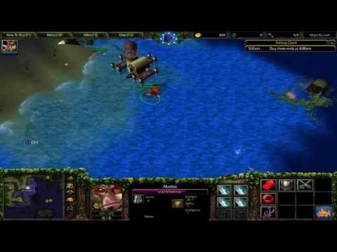 Warcraft 3 TFT - Go FiSH! Deep Sea #1