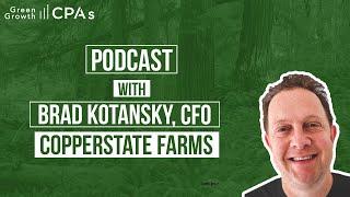 Interview with Cannabis CFO, Brad Kotansky, about Arizona Cannabis Businesses