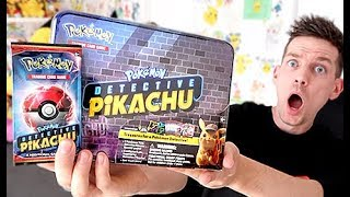 *NEW* Detective Pikachu Collector Chest Opening