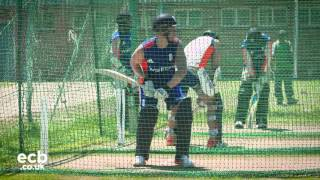 Jason Roy in the nets