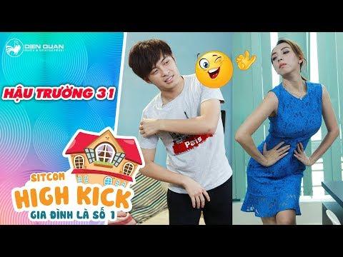 Gia đình là số 1 sitcom | Hậu trường 31: Gin Tuấn Kiệt siêu lầy khi quảng cáo quán ăn cho Thu Trang
