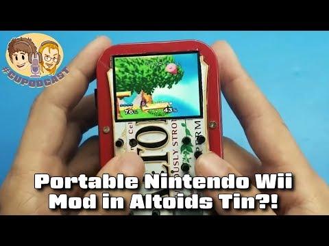 Portable Nintendo Wii Mod in Altoids Tin - #CUPodcast