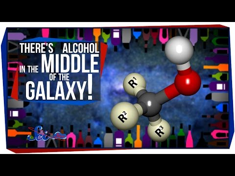 There's Alcohol in the Middle of the Galaxy!