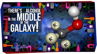 there s alcohol in the middle of the galaxy
