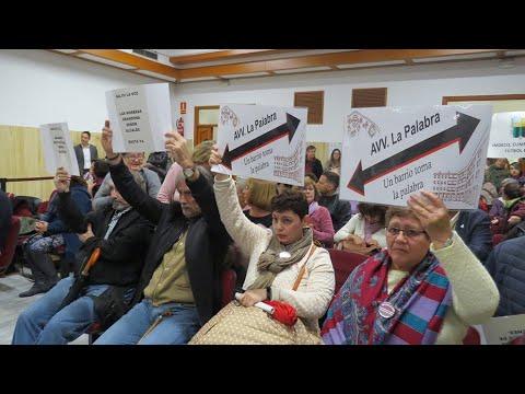 Vecinos de las Moreras interrumpen el Pleno Municipal por el lamentable estado del barrio