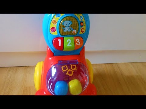 VTech Pop and Count Vacuum Counting Colours Vacuum Cleaner/ hoover toy