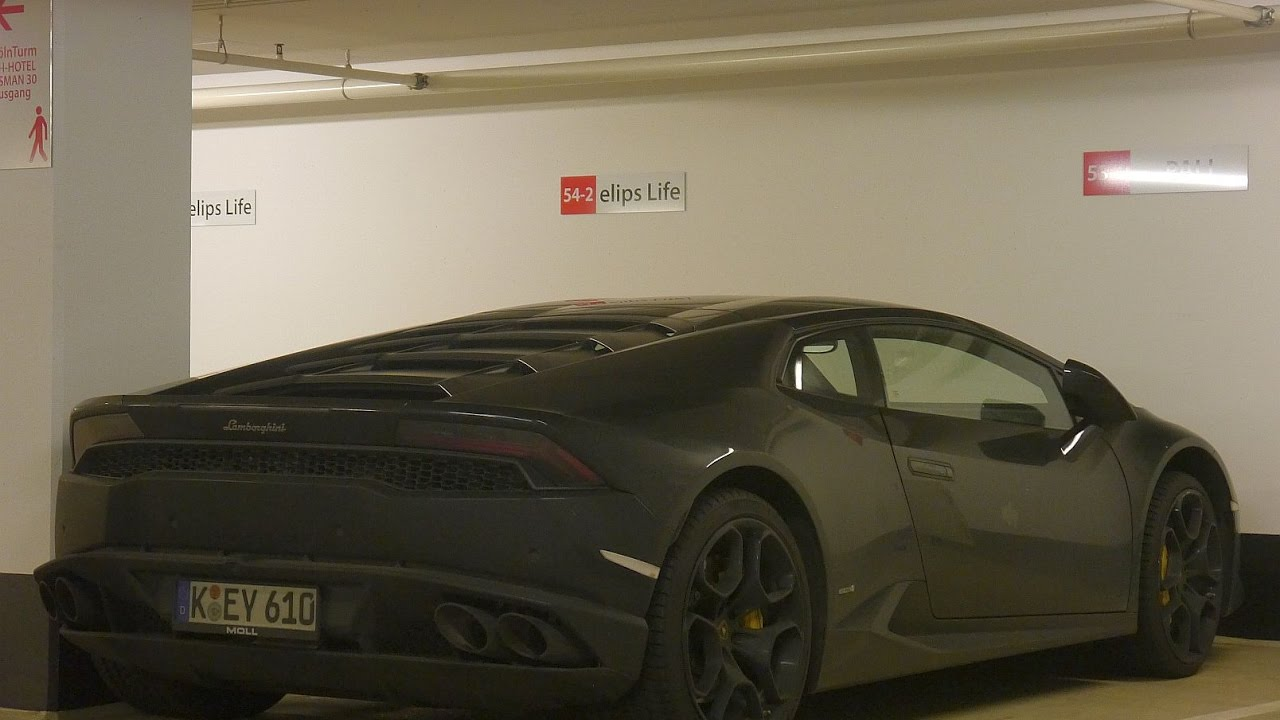 Lamborghini Huracan in a Secret garage in cologne!