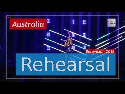 Jessica Mauboy - We Got Love - Eurovision 2018 Australia (Rehearsal)