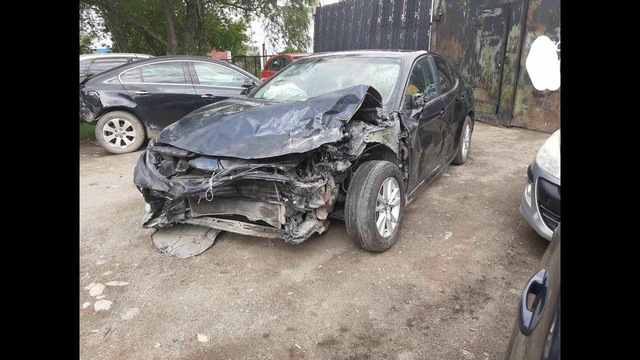 Toyota Camry 2019 год 2.5 битая продается за 920000 р