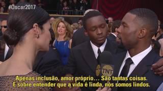 #Oscar2017   Entrevista com Trevante Rhodes e Ashton Sanders