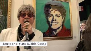 Benito Laren en Arteba 2011 en la Galeria Budich-Giesso