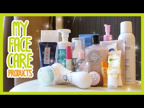 My Face Care Products | ผลิตภัณฑ์บำรุงหน้าที่ใช้อยู่