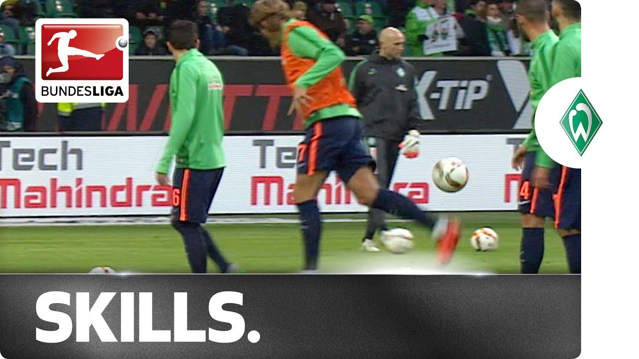Werder Bremen defender Jannik Vestergaard scores absolute biff