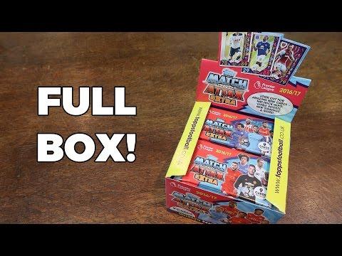 FULL BOX OPENING! Match Attax Extra 2016/17