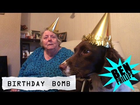 Thumbnail: Ben Phillips | Birthday Bomb PRANK!!! - we blew up nans kitchen