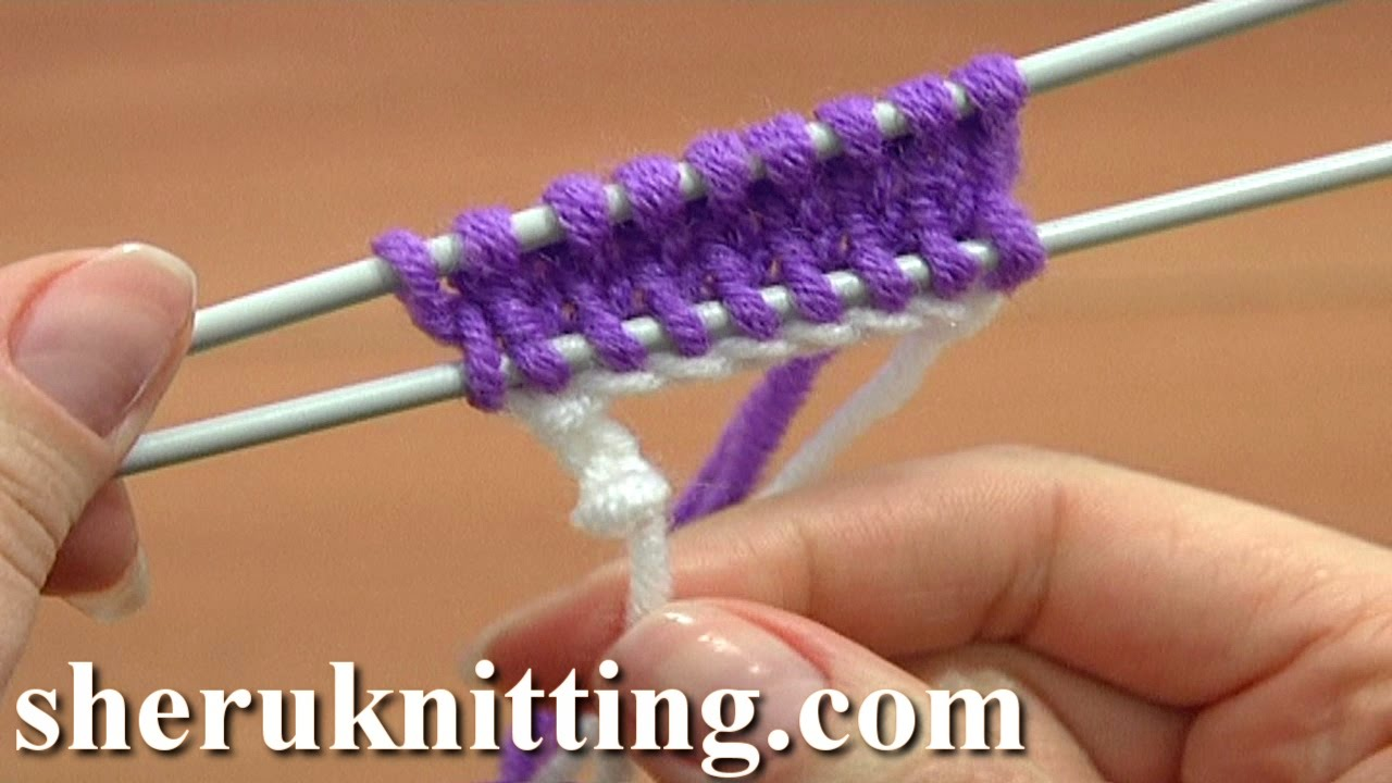 Knitting Tutorial Cast On : Knit the crochet provisional cast on tutorial part of