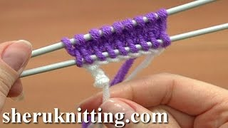 Knit The Crochet Provisional Cast On Tutorial 1 Part 17 of 18 Stricken lernen