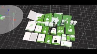 "Works for ""3Docean"" - Mock Up project c4d - design studio good luck"