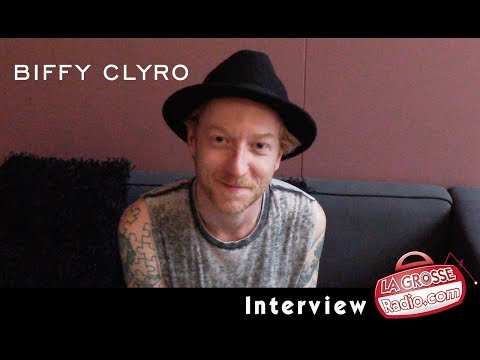James Johnston (Biffy Clyro) - Interview by La Grosse Radio