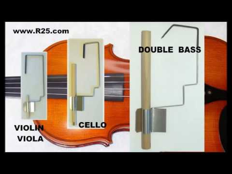 Professional setup of sound post in violin viola cello and double bass