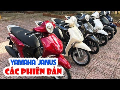 Yamaha Janus - Sự khác nhau giữa các phiên bản ▶ Xe tay ga dành cho nữ