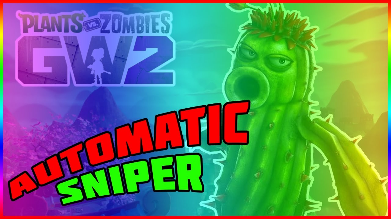 AUTOMATIC SNIPER! Plants vs Zombies Garden Warfare 2 - YouTube