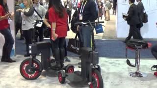 ACTON M Scooter - CES 2015