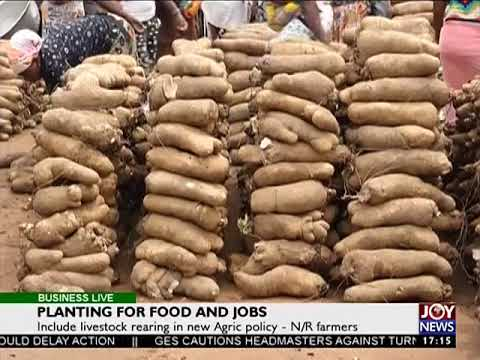 Planting for food and jobs - Business Live on JoyNews (18-9-17)