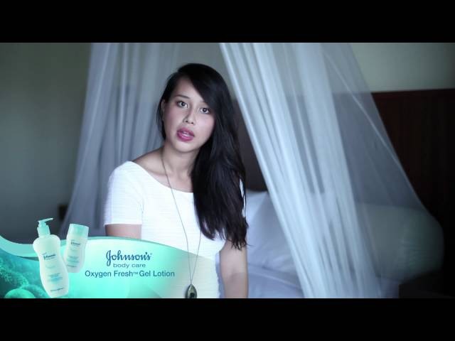 Diandra Arjunaidi with JOHNSON'S® body care Oxygen Fresh™ Gel Lotion Travel Video