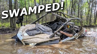 Our WETTEST ride ever! Pro XPs get SWAMPED! X3 water skips!