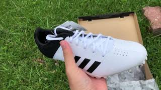Unboxing Adizero Finesse - white/core black