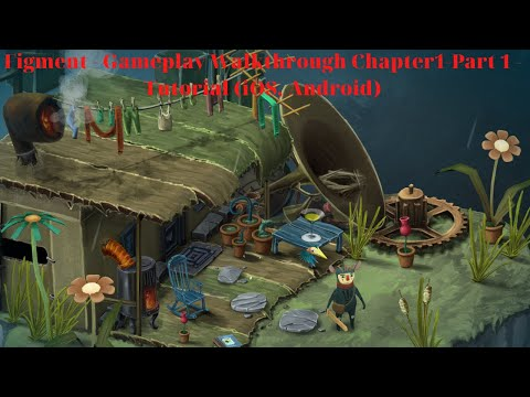 Figment - Gameplay Walkthrough Chapter1-Part 1 - Tutorial (iOS, Android) | Mobile Game Training |