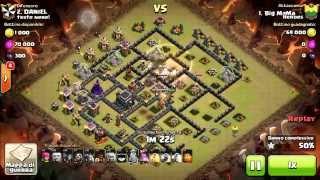 Gohog - Th9 - 3Stars - Clash of clans - ITA