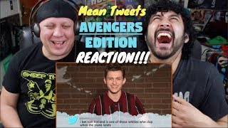 Mean Tweets - AVENGERS EDITION - REACTION!!!