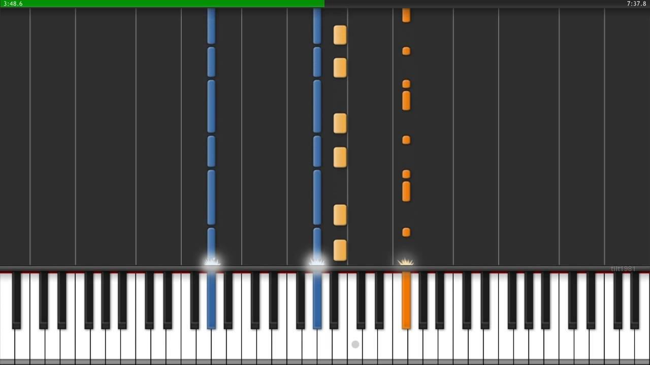 Deadmau5 strobe piano score, hd png download, transparent png.