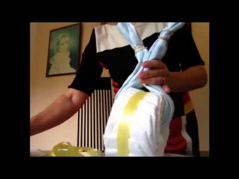 motorcycle nappy cake instructions