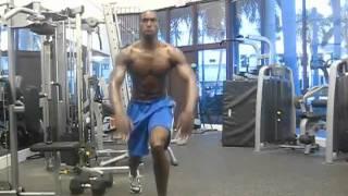 """Plyometric Exercises To Increase Jumping Ability""  Tony Thomas NFL Combine Workout"