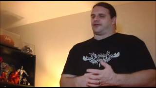 Corpsegrinder talks about his VILE scream