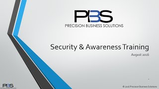 Security Awareness & Training