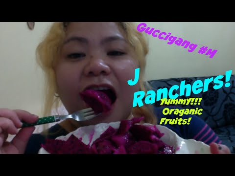 #M!J Ranchers Organic dragon fruit Review:Snack inspirational reading Vlog11 먹방