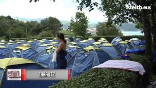 Muchos australianos se hospedan en Zarautz por sanfermines