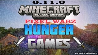Minecraft PE 0.11.0 Alpha Build 10 (Hunger games-Survival games)