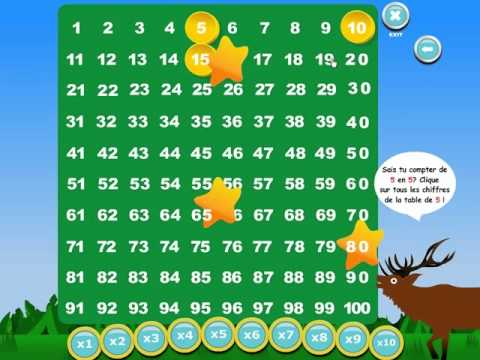 Jeu des tables de multiplications youtube - Jeu de tables de multiplication ...