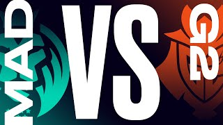 MAD vs. G2 - Week 8 Day 1 | LEC Summer Split | MAD Lions vs. G2 Esports (2021)