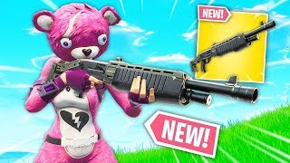 Let's try the NEW LEGENDARY POMPA! New ARMA PATCH 6.31 Live Fortnite ITA