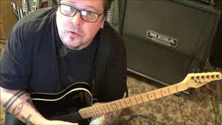 Schecter PT Guitar Demo by Mike Gross from Rockinguitarlessons
