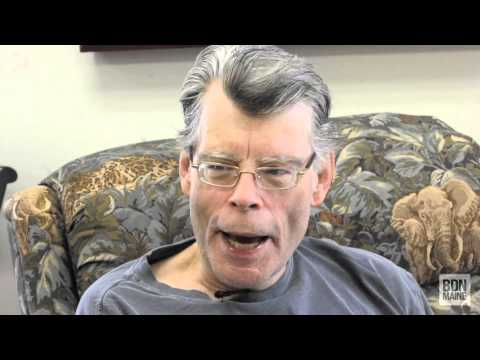 Stephen King talks about his accident in Maine during an interview with the Bangor Daily News.