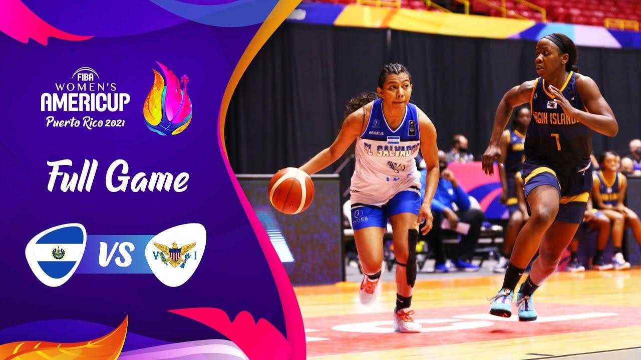 El Salvador v US Virgin Islands | Full Game - FIBA Women's AmeriCup 2021