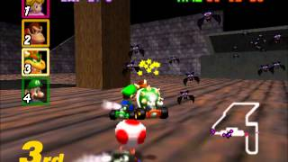 Mario Kart 64 - Racing the STAR CUP on 155cc (Nigcatt) - User video